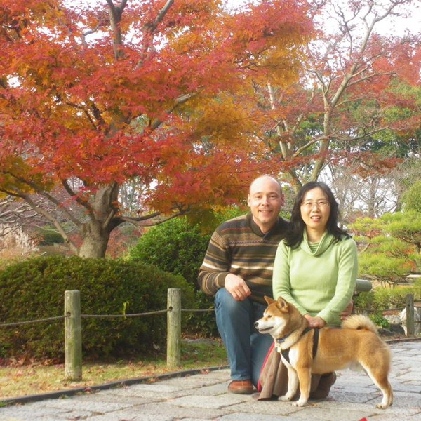 Unsere Missionare in Japan: Shoko & Andreas Pfeiffer.